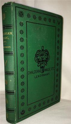 1877 CHALDEAN MAGIC DEMONOLOGY GRIMOIRE WITCHCRAFT SORCERY GRIMOIRE BABYLON