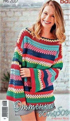 Fabulous Crochet a Little Black Crochet Dress Ideas. Georgeous Crochet a Little Black Crochet Dress Ideas. Pull Crochet, Mode Crochet, Crochet Jumper, Black Crochet Dress, Crochet Jacket, Crochet Cardigan, Knit Crochet, Easy Crochet, Crochet Designs