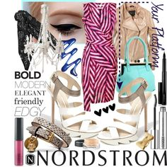 Your Platform: Nordstrom, created by minniesoda on Polyvore