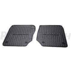 RUBBER MAT SET FRONT PR 38A RANGE ROVER, RND230, STC8890AA - Rovers North - Classic Land Rover Parts