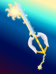Rising Morning (Celestia Keyblade) by aniamalman on DeviantArt Kingdom Hearts Worlds, Kingdom Hearts Keyblade, Disney Kingdom Hearts, Final Fantasy, Nightmare Moon, Little Poni, My Lil Pony, Night Terror, Princess Celestia