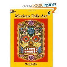 Download Mexican Folk Art Coloring Book (Dover Design Coloring Books) e-book | Blog | iiuomaods