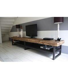 Geweldig stoer industrieel TV-meubel | Huis en Inrichting - Meubels