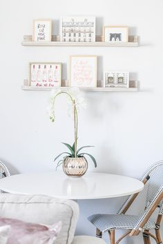 Shop White Orchid in Gold Vase and more