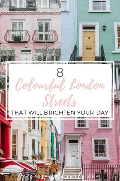 8 Colourful London Streets To Brighten Your Day - Gingersnap Travels Backpacking Europe, London Photography, Photography Tips, Travel Photography, Travel Guides, Travel Tips, Bucket List Europe, London Guide, London Instagram
