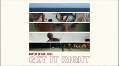 Diplo - Get It Right (Feat. MØ) (Official Lyric Video)
