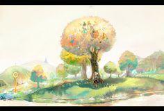 SOMETHING REFRESHING THIS MORNING  Tree by zhongbiao.deviantart.com on @deviantART