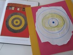 Inspired By Jasper Johns - kids remake famous art while learning about the artist too. Pre-k?