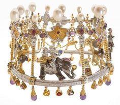 """CREATIVE MUSEUM - Jean Boggio:  Necklace """"Carrousel"""""""