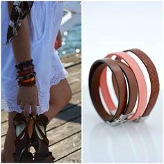 Hang on!These bracelets will be here soon! Cuff Bracelets, Bangles, My Style, Collection, Jewelry, Fashion, Bracelets, Moda, Jewlery