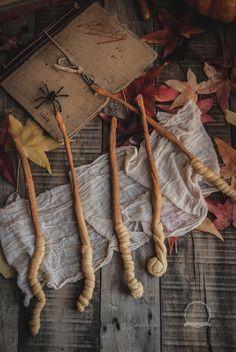 """Revelando Sabores: Varitas mágicas de Harry Potter (Colines) """"Especial Halloween"""""""
