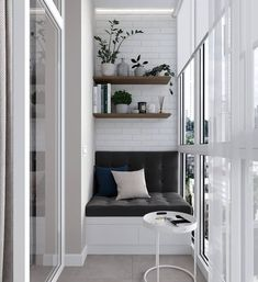 Cool Gorgeous Small Apartment Design With Amazing Interior Decor, Small Apartments, Interior, Balcony Decor, Apartment Design, Home Decor, House Interior, Small Apartment Design, Home Deco