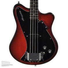 Ampeg SSB Bass Red Burst 1968 - Chicago Music Exchange