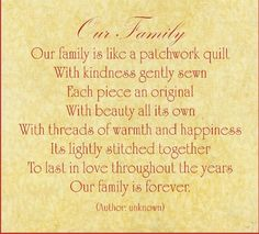 luxury family forever quotes poems about family