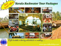 kerala backwater tour packages in India by Special Holidays