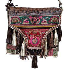 gorgeous tribal bag