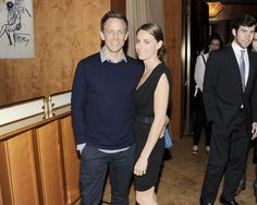 """Seth Meyers and Alexi Ashe Meyers at the after party for the screening of """"A Walk Among the Tombstones"""""""