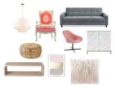 """""""living room"""" by maria-isabel-reyes on Polyvore featuring interior, interiors, interior design, hogar, home decor, interior decorating, McGuire, Oly, PTM Images y living room"""