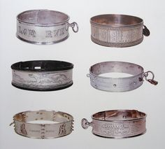 antique dog collars -- works of art!