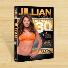 Jillian Michaels Ripped in 30, 2011 Workout Exercise DVD Videos