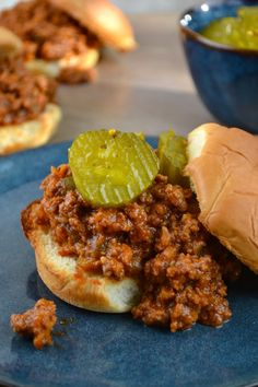 Sloppy Joes. Sweet, tangy, and salty. They're the perfect weeknight meal for any time of the year!