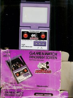 1984 Mickey Mouse Nintendo Game & Watch - http://www.buzzfeed.com/leonoraepstein/28-toys-from-your-childhood-that-are-now-worth-bank