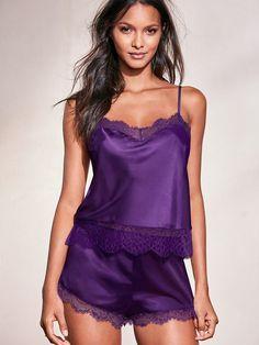 sexy lingerie for women Satin Lingerie, Babydoll Lingerie, Lingerie Sleepwear, Lingerie Set, Nightwear, Women Lingerie, Ropa Interior Babydoll, Pyjama Satin, Pijamas Women