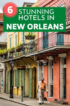 Is New Orleans on your bucket list? I've been 7 times and without doubt the best location to stay is in the French Quarter. Here are 6 fabulous hotels all within walking distance of the best music and food in NOLA  #neworleans #frenchquarter