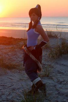 Courtney Morelock: Korra from The Legend of Korra in Otaku House Cosplay Idol 2012