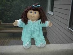Cabbage patch doll pattern free patterns cabbage patch dolls crochet air freshener dolls and fashion dolls cabbage patch sleeper dt1010fo