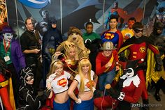 DC universe cosplay.