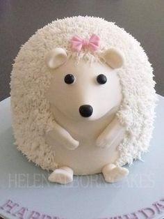 Hedgehog cake!  So cute! by MommaJones