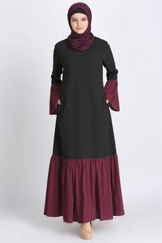 Abaya Online: Modest Islamic Clothing - Another! Abaya Fashion, Muslim Fashion, Modest Fashion, Fashion Outfits, Islamic Fashion, Muslim Dress, Hijab Dress, Hijab Outfit, Modele Hijab