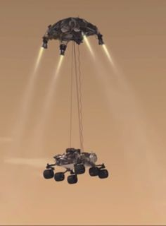Sky crane maneuver that successfully landed Curiosity - - Sky crane maneuver that successfully landed Curiosity Mars . Planet This maneuver that was proven by curiosity is going to be used for Mars I can't wait. Curiosity Mars, Cosmos, Space Planets, Space And Astronomy, Sistema Solar, Nasa Space Pictures, Mars Science Laboratory, Nasa Space Program, Outer Space