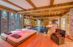 The new spa at Chalet Lhotse — Val d'Isere, France, Luxury Ski Chalets, Ski Boutique