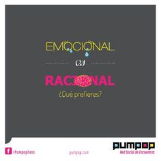 De que lado estas? #emocional #racional