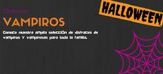 Disfraces de Vampiros y Vampiresas para Halloween #blog #tienda #disfraces #online #carnaval #halloween