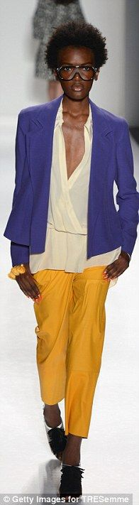 Bright colors from Tracy Reese Spring/Summer 2013 Collection