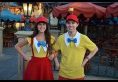 Tweedle dee and Tweedle dum couple costume! Disney bound