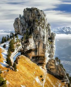 The Chartreuse Mountains (massif de la Chartreuse), a mountain range in southeastern France.