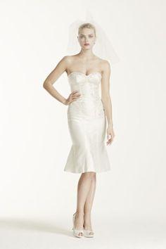 Truly Zac Posen Short Wedding Dress with Corset ZP341407