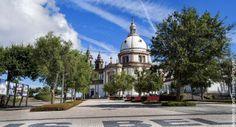 Santuario do Sameiro en Braga   Turismo en Portugal (shared via SlingPic)