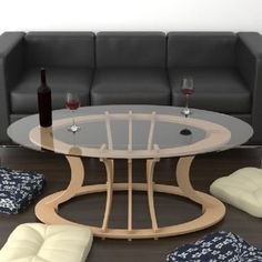 38 Coffee Tables To Inspire Plywood Furniture, Table Furniture, Furniture Design, Tea Table Design, Kitchen Door Designs, Wood Corner Shelves, Central Table, Diy Sofa, Coffee Tables