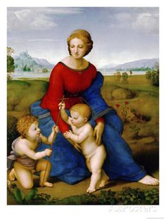 Madonna on the Meadow, 1505 or 1506 ジクレープリント