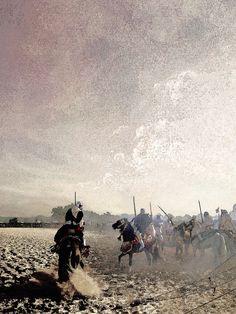 HORSES AT KHABAT