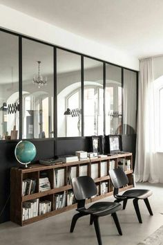Stunning Moody Mid Century Home Office Decor Ideas – Modern Home Office Design Contemporary Interior, Modern Interior Design, Modern Decor, Home Office Design, Home Office Decor, Home Decor, Office Ideas, Decor Crafts, Houses Architecture