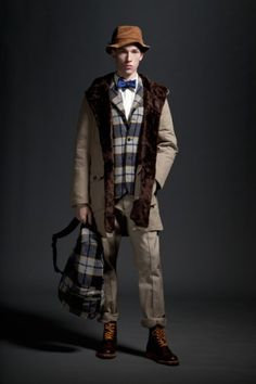 Woolrich Woolen Mills by Mark McNairy Fall 2012 Lookbook