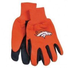Denver Broncos Utility Work Gloves
