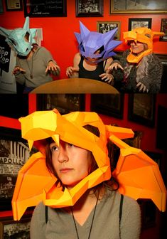 Pokemon Paper Masks- I want the Haunter one c: