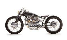 Falcon Motorbikes. The Black